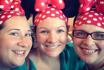 Disney Style / Headbands for running in the #Disney races and fans! #WDW