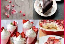 Valentine's recipes - Ricette per San Valentino / Valentine's recipes...with love and flavor! Ricette per San Valentino...con amore e sapore!