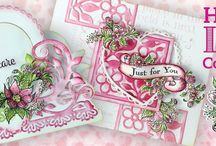 Heartfelt Love Collection / Spread love and encouragement wherever you go with the new Heartfelt Love Collection! Filled with uplifting sentiments for all occasions, you will find that this assembling of heartwarming papers, cling stamp sets and die cuts will allow you to brighten the days of friends, loved ones and those you meet along the road of life needing a little pick me up or celebrating a special day!