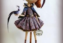 merveilleuses poupées / wonderful dolls  / by Gédane
