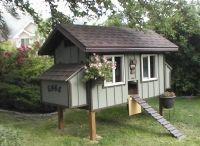 Csirkeház / Backyard Chicken Coop / find the best DIY pojects
