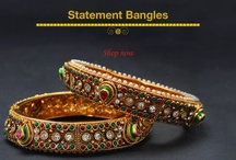 Statement of bangles / Heritage Inspiration: Boho Chic fashion is definitely here to stay with these statement jewelry, so cuff yourself in trendy chic jewelry. / by Indianmyra