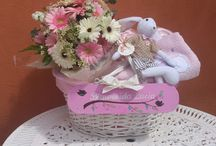 Regalo para recién nacido / Un detalle inolvidable para la mama y el recién llegado. Personalizado. de Un patio con flores