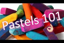 Learn painting with pastels