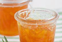 Mermelada de naranja con romero