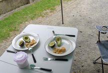 Kochideen für die Reise / Rezepte für den engsten Raum. Campinggeeignete Ideen. DIY Brot back Rezepte