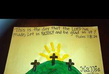 Kid's Easter crafts
