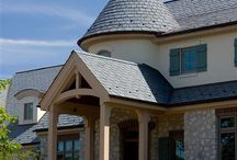 Majestic Slate Designer / Many unique shapes and designs have been seen in slate roofing throughout history. It has become increasingly hard though to find some of these classic styles to match existing roofing or to create dynamic new construction.  Our Designer Series offers unlimited creative possibilities