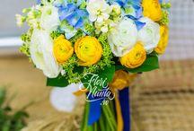 Buchete pentru cununia civila. Civil Ceremony bouquets.