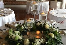Greenery Styled Centerpieces