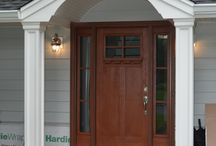 Porticos / Custom made porticos by K & B Home Remodelers.