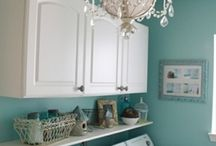 Home - Laundry Room / by Camille S.