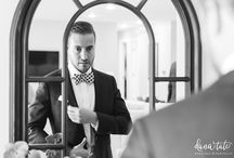 Getting Ready / Brides and grooms getting ready for their weddings, as photographed by Dana Tate. www.danatateweddings.com