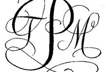 Czcionki i monogram