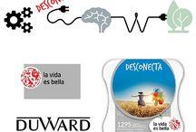 Desconecta con Duward / ¿Te apetece un descanso? #RelojesDuward presenta la nueva promoción DESCONECTA. Consigue una experiencia de La vida es bella y disfruta de un momento de relax. Por cada compra realizada online superior a 99€ se recibirá un código e-pack desconecta de regalo que se podrá canjear por una experiencia para una o dos personas. ¡No lo dejes escapar y desconecta con Duward!  Todos los detalles aquí: http://bit.ly/1QfAbYm