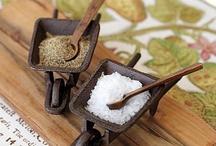 Sal y Pimienta / Ingredientes que nunca deben de faltar en las mesas, y tu... donde los colocas?
