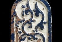 pottery - tiles - relief