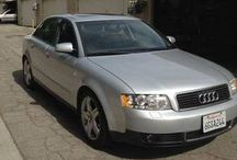 Used 2003 Audi A4 for Sale ($5,900) at  Venice , CA / Make:  Audi, Model:  A4, Year:  2003, Body Style:  Car, Exterior Color: Silver, Interior Color: Gray, Doors: Four Door, Vehicle Condition: Good, Mileage:79,000 mi, Fuel: Gasoline, Engine: 4 Cylinder, Transmission: Automatic, Drivetrain: 2 wheel drive - front.    Contact:310-266-0729    Car Id (57122)