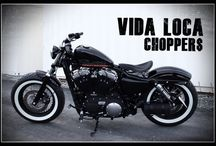 """Sportster Harley """"Forty Eight"""" by Vida Loca Choppers / Sportster Harley Forty Height Designed by Vida Loca Choppers in 2013"""