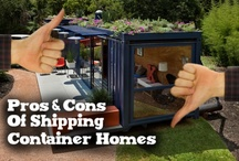 shipping container homes...   interesting!