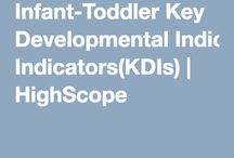 infants and toddlers' learning
