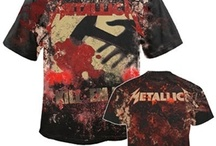 Metallica Merch / Official Metallica merch available from the www.HeavyMetalMerchant.com online store.