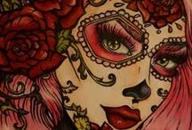 Chica Sugar Skull