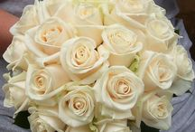 cream bouquets