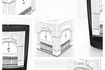 Les Gants du Palais & Maison Fabre / Bougie parfumée Maison Fabre - série limitée pour nos 90 ans  - une transcription olfactive de la ganterie de Millau sous les arcades du Palais Royal à Paris.