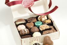 Chocolate Boxes / Choose one of our hand made boxes across various designs, ranging from an 8 chocolate box up to a 70 box