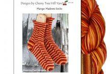 Cherry Tree Hill Yarn's Fingerpaints Supersock Kits