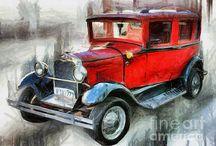 Vintage biler