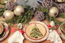 Set The Table: Christmas / Add a touch of festive to your table this holiday season!