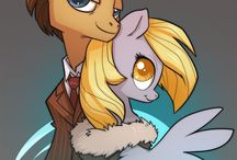 MLP Doctor Whooves and Derpy