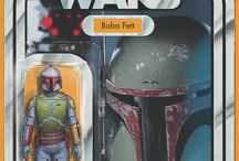 Marvel Star Wars Action Figure Variant Covers