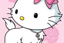 Sanrio / Charmmy Kitty and Hello Kitty are my favorites
