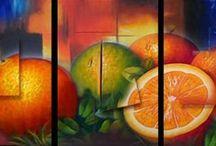 Frutas abstractas