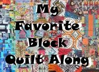 My Favorite Block Quilt Along