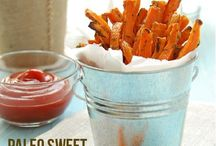 Paleo sweet potatoe fries