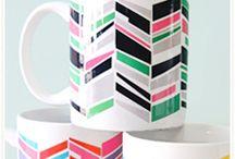 DiY -  sur verre ou porcelaine / peinture, customisation de vaisselle