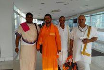 Representation of Garoi Ashram in an Int. gathering@Sri Lanka, Feb 2015 / A trip to interact with various spiritual missions