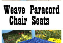 Weave chair seats