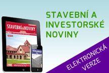 Stavební a investorské noviny - www.tvstav.cz / Informace, na kterých můžete stavět