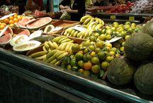 Nuestras frutas y verduras Mercat de l'Olivar / Frutas y verduras frescas, de temporada y con muchas variedades autóctonas.