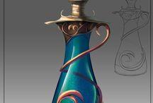 bottles/potions