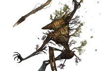 Древесные существа