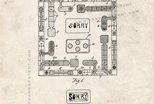 Vintage Board Game Graphics