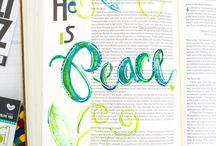 Bible Watercolor Journaling