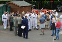 Father Brown / The filming of the detective series at Shelsley Walsh