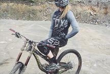 female riding